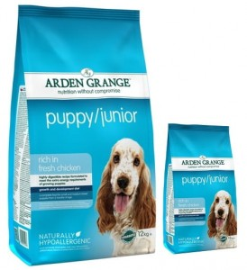 Arden Grange Puppy Junior 12 kg + 2 kg