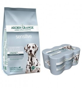 Arden Grange Adult Sensitive 12 kg + 6 puszek Arden Grange Sensitive 395 g GRATIS