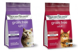 Arden Grange Cat Light Grain Free 4 kg + Arden Grange Cat Chicken Grain Free 4 kg