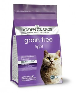 Arden Grange Cat Light Grain Free 4kg
