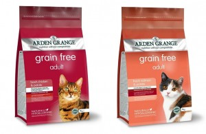 Arden Grange Cat Chicken Grain Free 4kg + Arden Grange Cat Salmon Grain Free 4kg